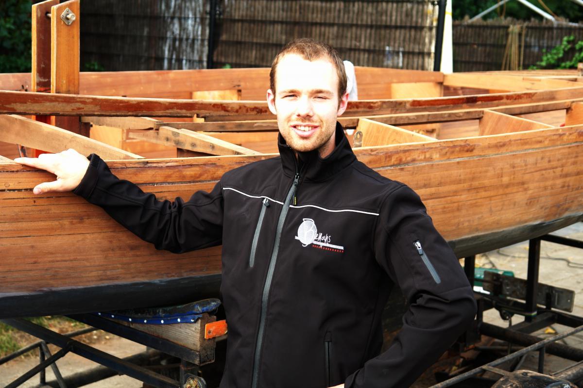 Rob A.W. Biemans, oprichter van Biemans Wood Design